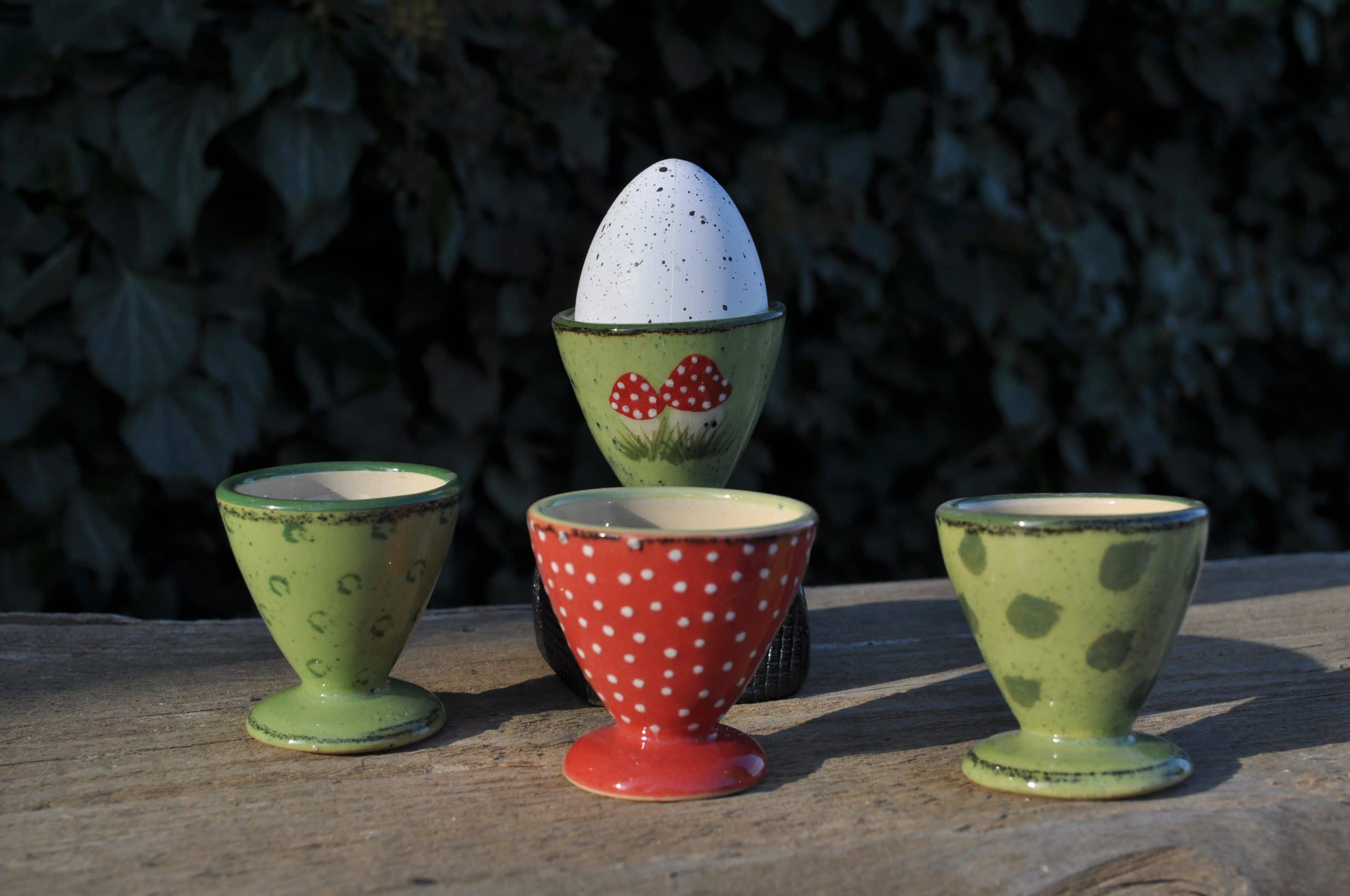 Eierbecher Grün Claudia Nitsch